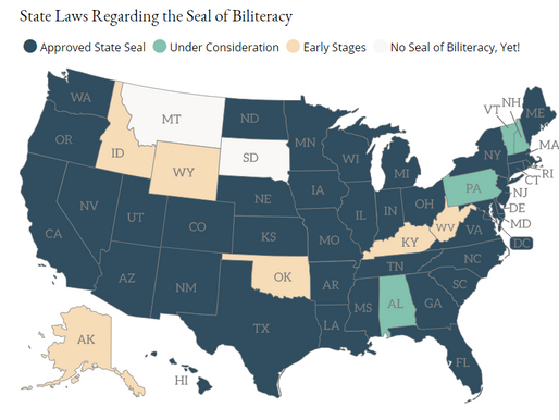 The BEST Act: Ask Your Senator To Cosponsor Seal of Biliteracy Legislation in the Senate (S.3328)