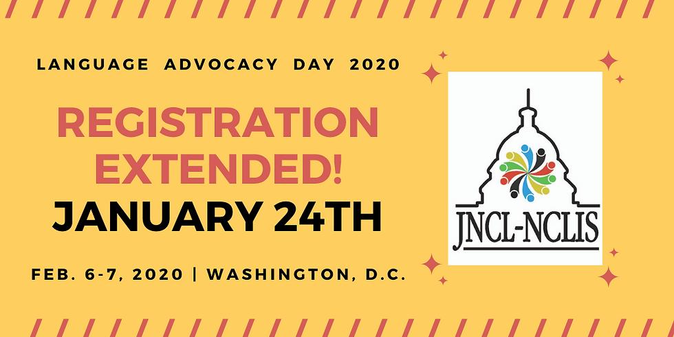 Language Advocacy Day 2020