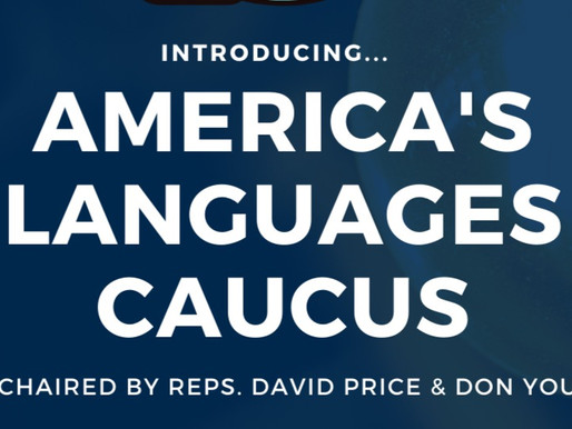 Reps. Price and Young Launch America's Languages Caucus