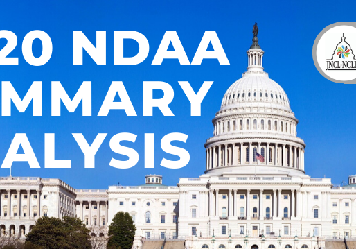 Summary Analysis: FY2020 National Defense Authorization Act