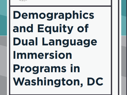 Dual Language Immersion Schools in D.C. Are More Diverse, But Have Fewer At-Risk Students