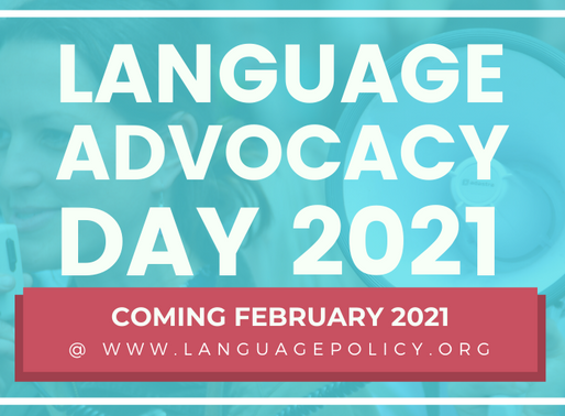 A Message from JNCL-NCLIS President: Language Advocacy Day 2021