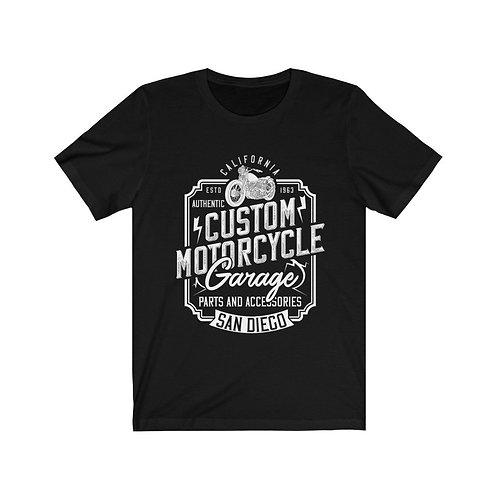Custom Motorcycle Garage