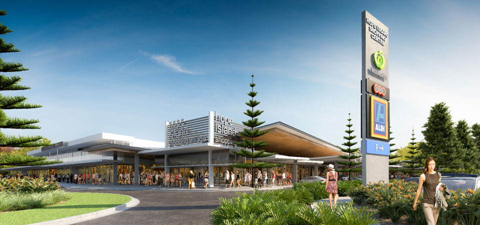 ADCO - Hope Island Market Place QLD - Under Construction