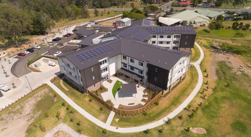 Paynter Dixon - Carinity Aged Care Mudgeeraba QLD - Completed 2017