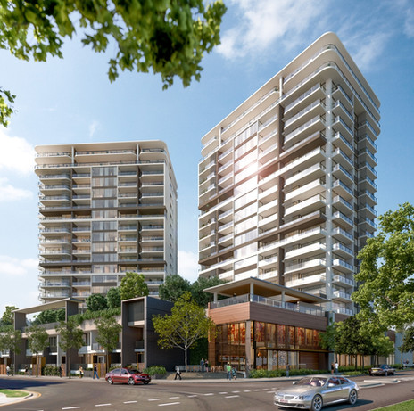 Mirvac - Unison Towers QLD - Completed 2016