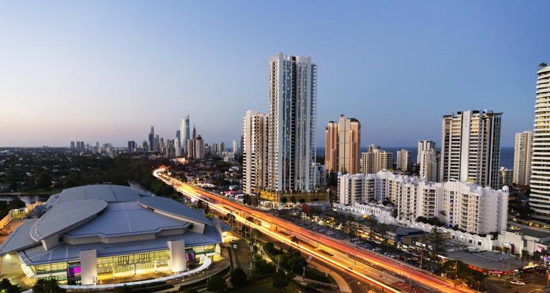 Morris Property Group - Qube Apartments QLD - Under Construction