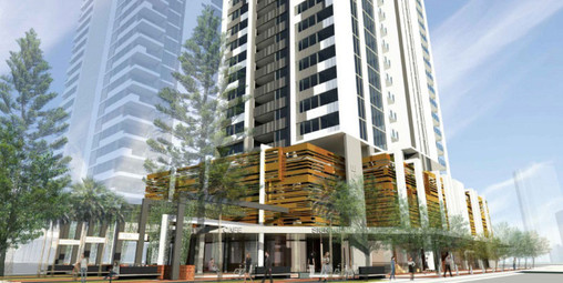 Morris Property Group - Qube Apartments QLD - Under Construction