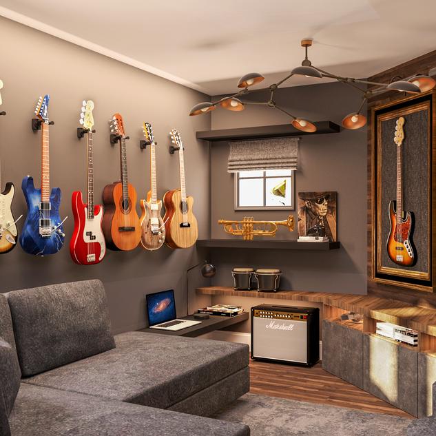 Music Room E-design