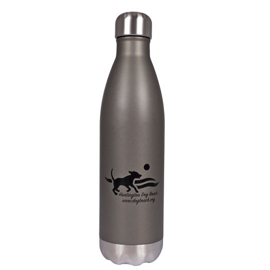 Huntington Dog Beach HGO Force Thermal Bottle - H2go water bottle