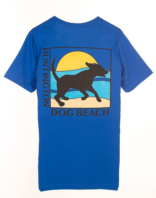 """Running Dog"" Short Sleeve T-Shirt"