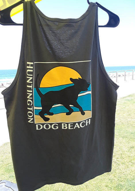 """Running Dog"" Muscle Tank Top"
