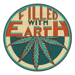 Filled With Earth Logo