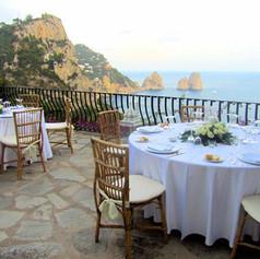 Dinner in Capri
