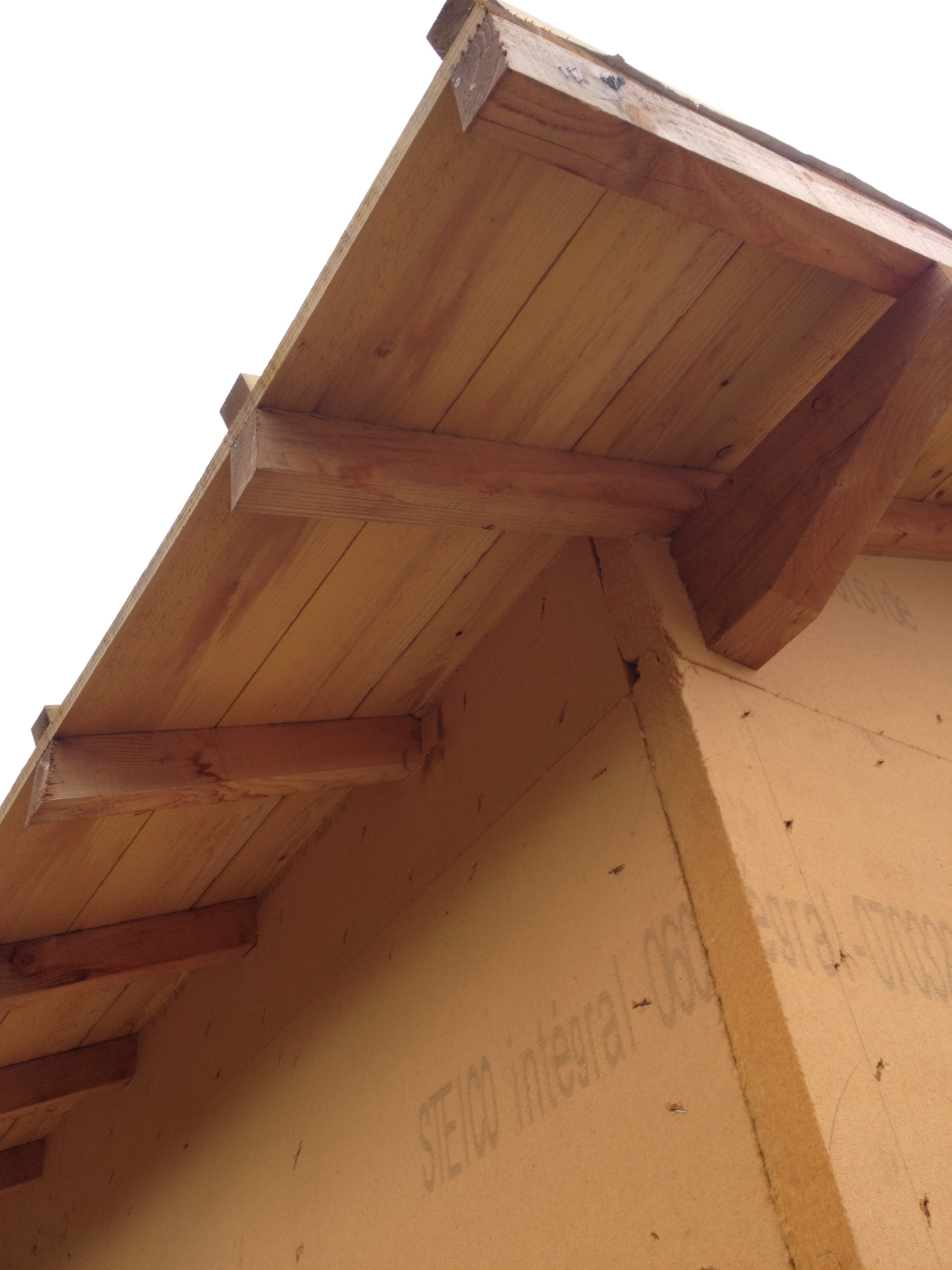Débords de toit