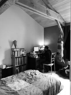 La chambre d'ami et le bureau