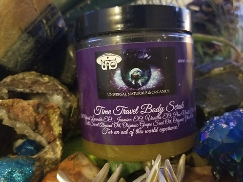 Time Travel Body Scrub 8oz.
