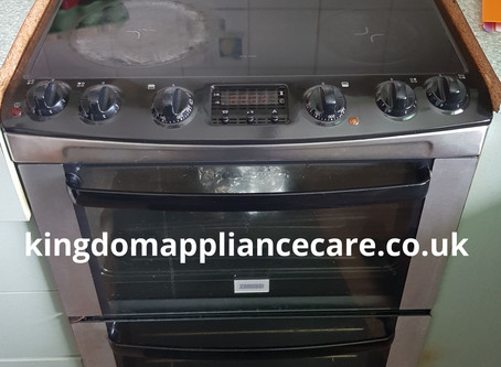 How To Replace A Zanussi Fan Oven Element   Model ZCV662MXC   Buy This Fan Element Here...