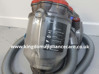 Dyson DC19 Blitz It.....has been blitzed by Kingdom Appliance Care.