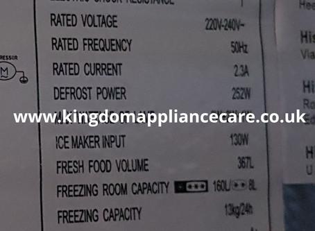 Hisense Fridge Freezer Model RS696N4II1  Cooling Issue   Freezer not Freezing....