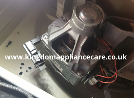 Indesit Washing Machine   Carbon Brush Replacement   How to do it...