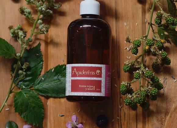Jabón Líquido Frutos Rojos y Miel