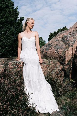 10c49a3964a4 Bohemisk brudklänning | Ivory & Grace | Nordens största ...