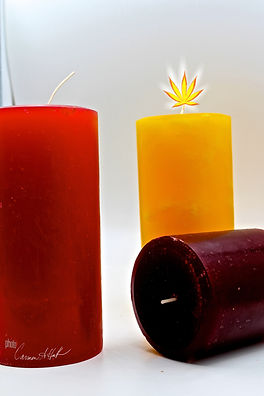 100hr and 50hr CBD candles