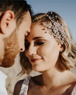 Bridal shoot for Kezani