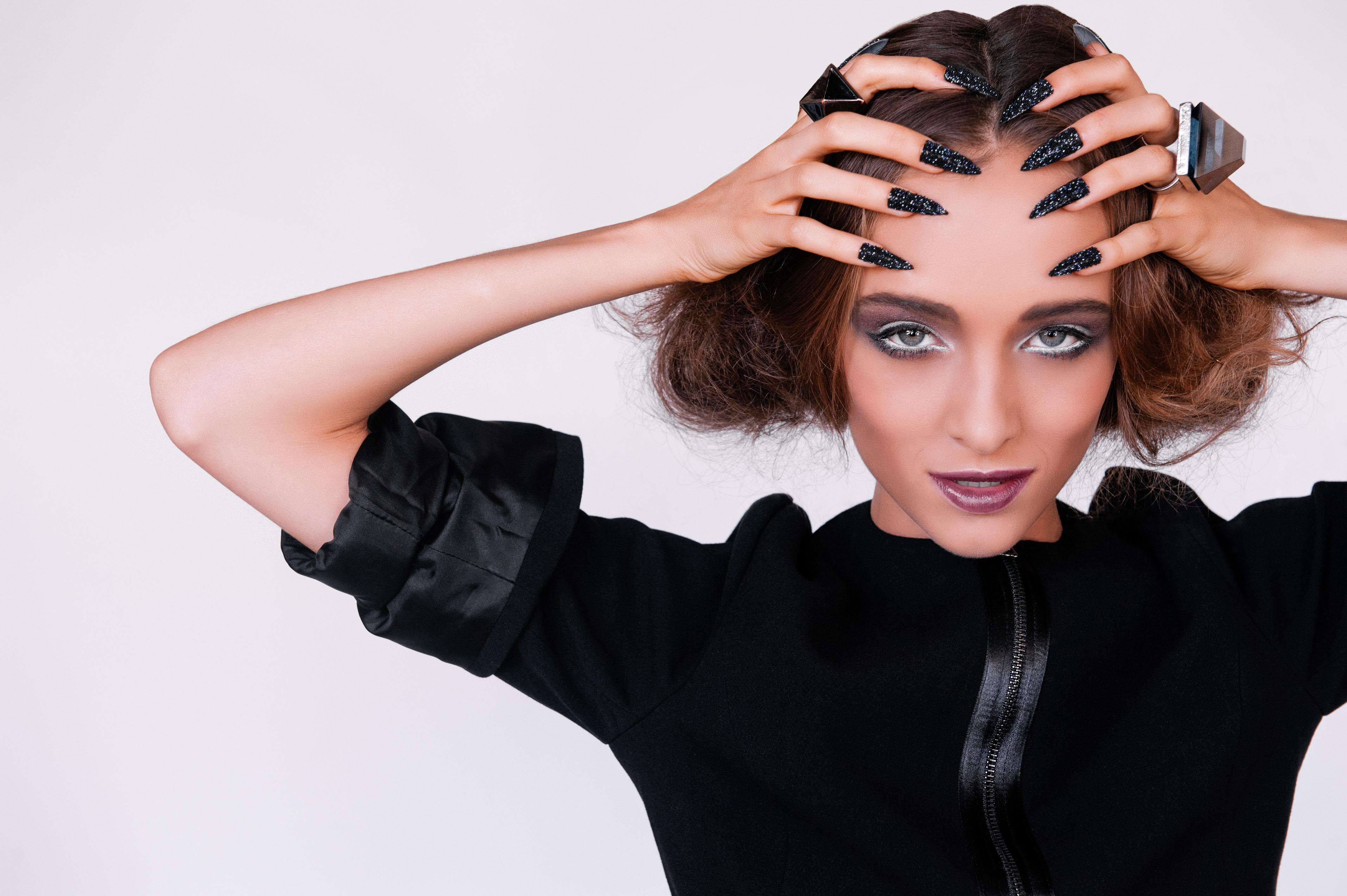 Makeup and nails by Vikki Aldridge