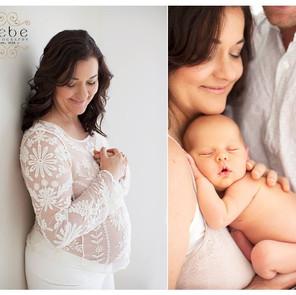 Maternity and Newborn shoot
