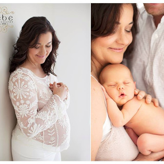Maternity and Newborn shoot