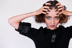 Nails makeup by Vikki Aldridge