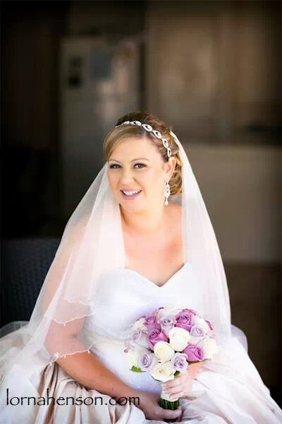 Bridal makeup by Vikki Aldridge
