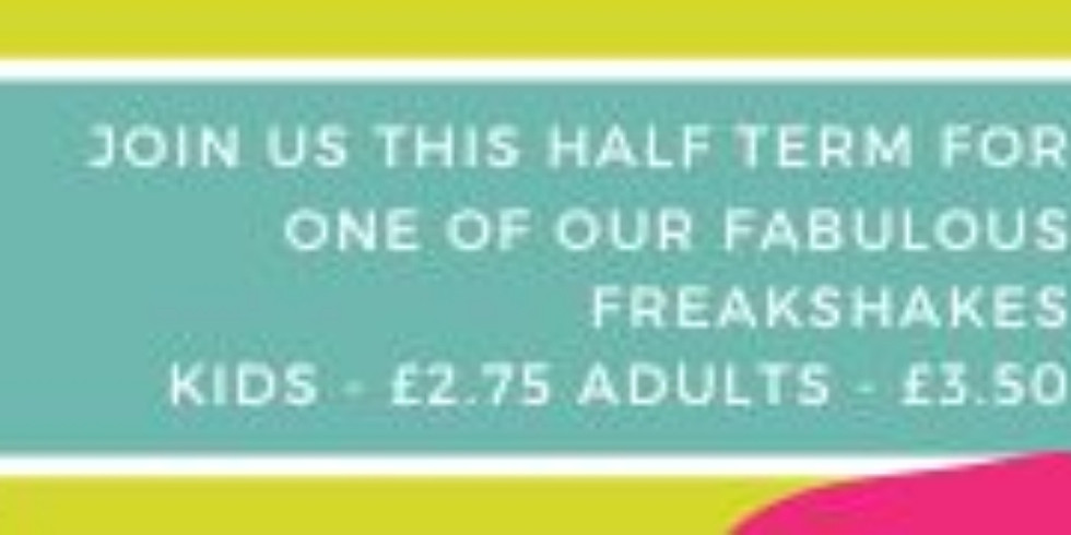 Get your Freak on with Coffee at Lyde this half term!
