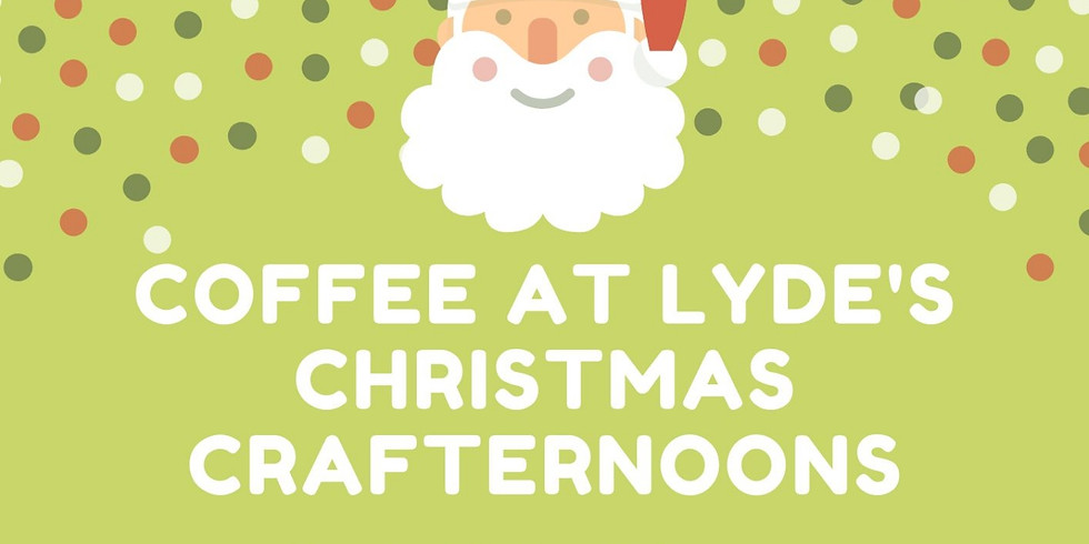Christmas Crafternoons
