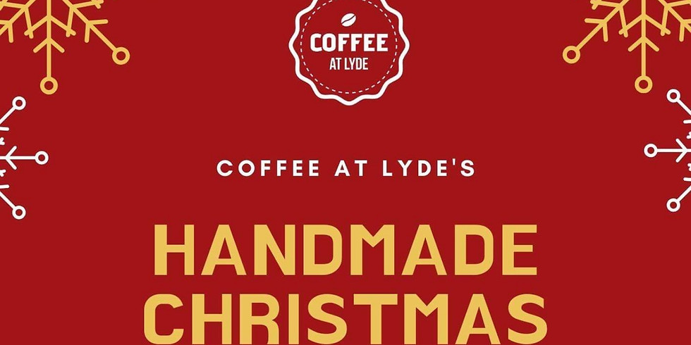 Coffee at Lyde's Handmade Christmas  - Part one,