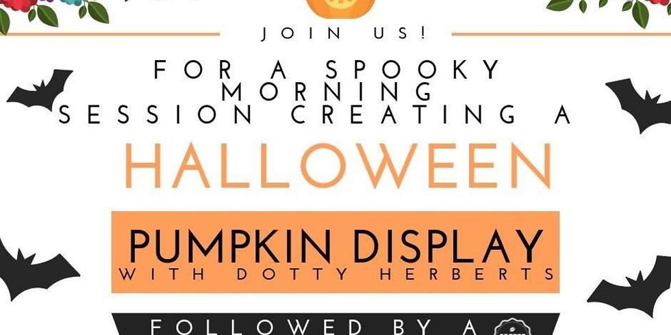 Halloween Pumpkin Display Session