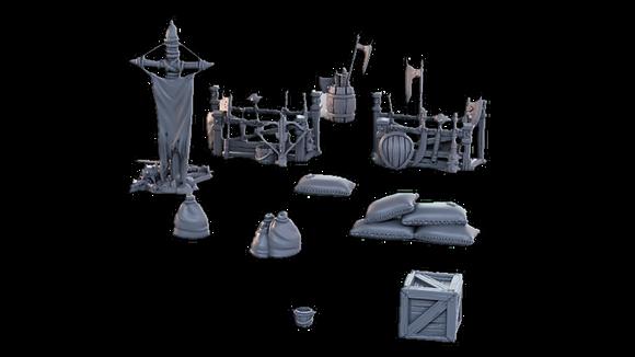 Camp Weapons Bundle