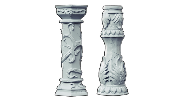 Greek Columns Bundle