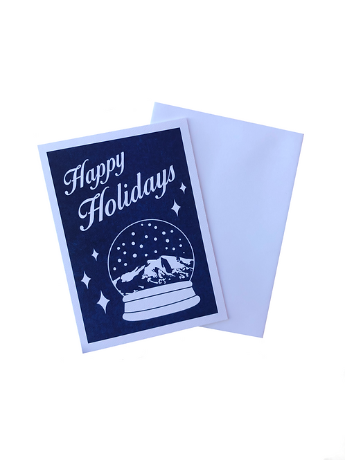 'Happy Holidays' Greeting Card