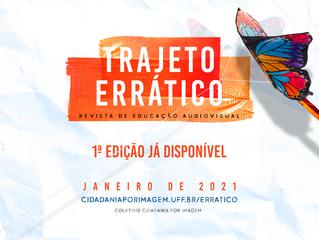 Zona de cinema na primeira edição de RAJETO ERRÁTICO - Revista de Educação Audiovisual