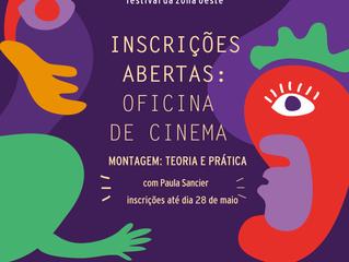 """Estão abertas as inscrições para a oficina """"Montagem: teoria e prática"""", do Zona de Cinema"""