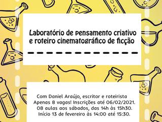 Zona de Cinema tem oficinas gratuitas de pensamento criativo