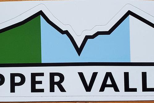 Upper Valley Flag - Mountains & Valley Sticker
