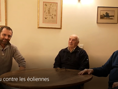 INTERVIEW DE L'ASSOCIATION DANS L'EMISSION PQVLB : POUR OU CONTRE LES EOLIENNES ...(7 janvier 2021)