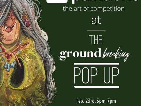 Feb. 23, 2019 - paintONE at Groundzero Pop Up