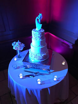 Phoenix Uplighting Cake Spot Blue and Pu
