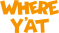 Where Y'at Logo Stacked Orange.png