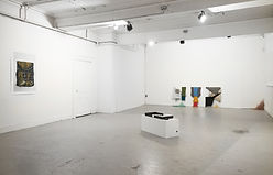 Installation View: Artist Tyler Mallison at Fingers Crossed II exhibiton, Rogue Studios Project Space, Manchester UK, 2015